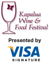 Kapalua Wine and Food Festival presented by Visa