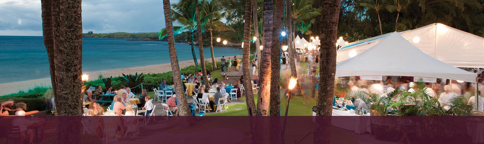 Kapalua Wine and Food Festival Maui Hawaii