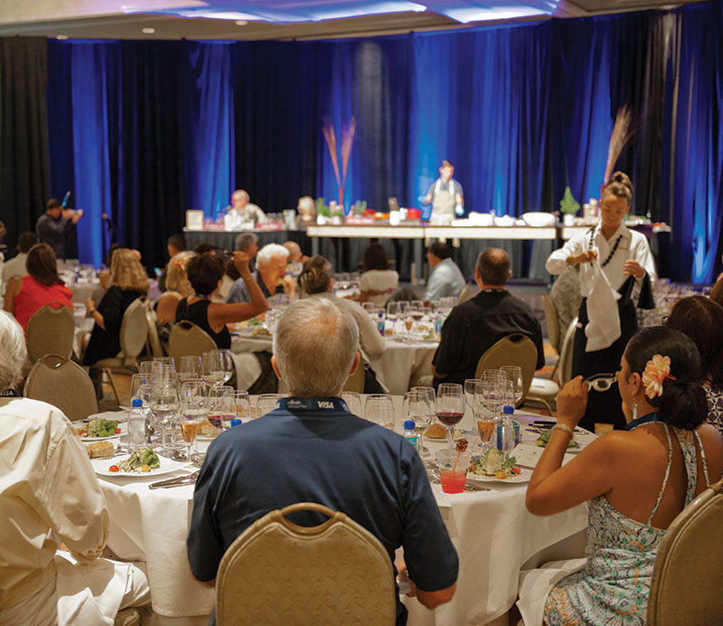 Kapalua Wine and Food Festival, Maui, Hawaii