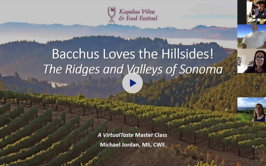 Virtual Tastings Videos Are Now Available