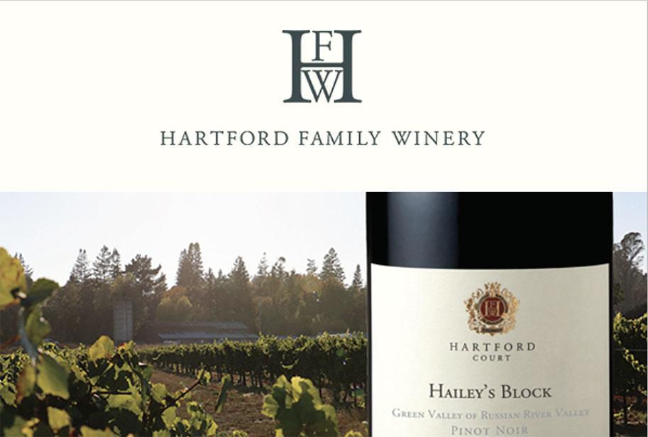 Virtual Tasting with Hartford Family Wines Thursday, September 17